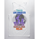 RSQ The World Is Yours Mens Tank Top