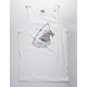 RSQ Jaws Mens Tank Top