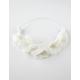 FULL TILT Large Ivory Flower Crown