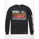 NEON RIOT NASA Columbia 1981 Black Mens T-Shirt