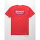 BRIXTON Palmer Red Mens T-Shirt