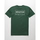BRIXTON Wedge Forest Mens T-Shirt