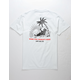 LAST CALL CO. Wasted White Mens T-Shirt