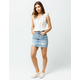 BILLABONG x Sincerely Jules Take Risk Ripped Denim Skirt