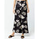 SISSTREVOLUTION Vacay All Day Womens Wide Leg Pants