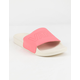 VANS Strawberry Pink Womens Slide Sandals