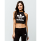 ADIDAS Trefoil Womens Halter Crop Top