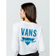 VANS Sound Checker Womens Crop Tee