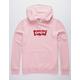 LEVI'S Logo Pink Mens Hoodie