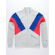 CHAMPION Reverse Weave Color Block Mens Track Jacket