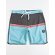 VISSLA Dredges Light Blue Mens Boardshorts