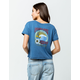 ROXY Chasing Waves Womens Crop Pocket Tee