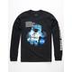 NEON RIOT NASA Space Float Black Mens T-Shirt