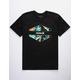 HURLEY Rundown Black Mens T-Shirt