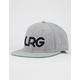 LRG Interception Gray Mens Snapback Hat
