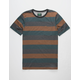 HIPPYTREE Elmore Heather Rust Mens Pocket Tee