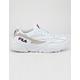 FILA V94M White & Gray Womens Shoes