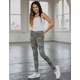 RSQ Mid Rise Camo Girls Skinny Jeggings