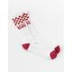 VANS Checker Vans Chili Pepper Mens Crew Socks