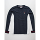 FILA Eoghan Navy Mens T-Shirt