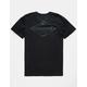 QUIKSILVER Vibed Black Mens T-Shirt