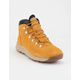 TIMBERLAND World Hiker Mid Wheat Suede Mens Hiking Boots
