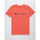 CHAMPION Heritage Papaya Boys T-Shirt