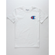 CHAMPION Big C White Boys T-Shirt