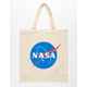 NASA Logo Natural Tote Bag