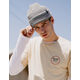 BRIXTON Heist Light Gray Beanie