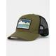 HIPPYTREE Borderline Olive Mens Trucker Hat