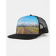 HIPPYTREE Highway Black Mens Trucker Hat