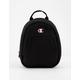 CHAMPION Reverse Weave Convertible Black Mini Backpack