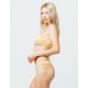 ROXY Beach Classics Yellow Cheeky Bikini Bottoms