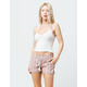 ROXY Oceanside Red Womens Shorts