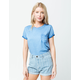 ROXY Take Me In Your World Womens Pocket Tee