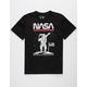 RIOT SOCIETY NASA Astronaut Black Boys T-Shirt