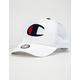 CHAMPION Twill Mesh White Mens Trucker Hat