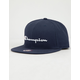 CHAMPION Script Mens Snapback Hat