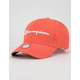 CHAMPION Classic Twill Papaya Mens Strapback Hat