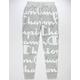 CHAMPION Reverse Weave All-Over Logo Giant Script Oxford Gray Mens Jogger Pants