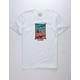VOLCOM Jenga White Mens T-Shirt