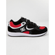 DC SHOES Kalis Lite Black, White & Athletic Red Mens Shoes