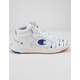CHAMPION Super C Court Leather Print White Womens Shoes