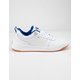 CHAMPION Super C Court Classic Leather White Mens Shoes