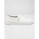 VANS Hemp Linen Slip-On Blanc De Blanc Womens Shoes