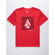 VOLCOM Zapper Red Boys T-Shirt