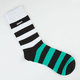 TRUKFIT Stripe Mens Crew Socks
