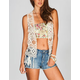 FULL TILT Womens Crochet Vest