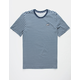 NIKE SB Stripe Navy Mens T-Shirt